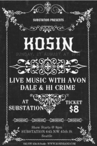Kosin at Substation